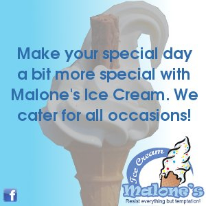 Malone's Ice Cream – Birthdays / Events / Weddings – Make your special day a bit more special with Malone's Ice Cream. We cater for all occasions!