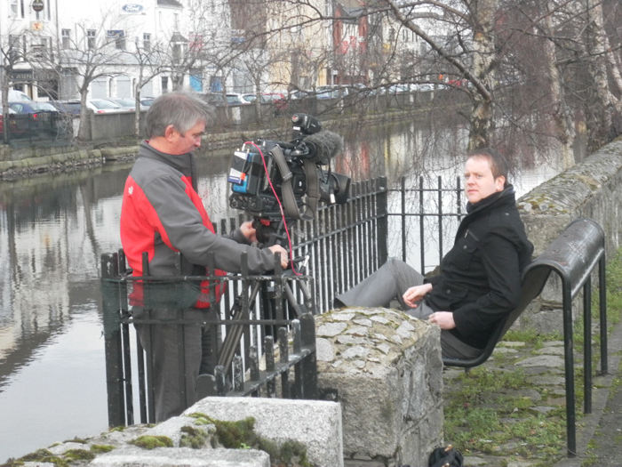 Newry Times film with the BBC