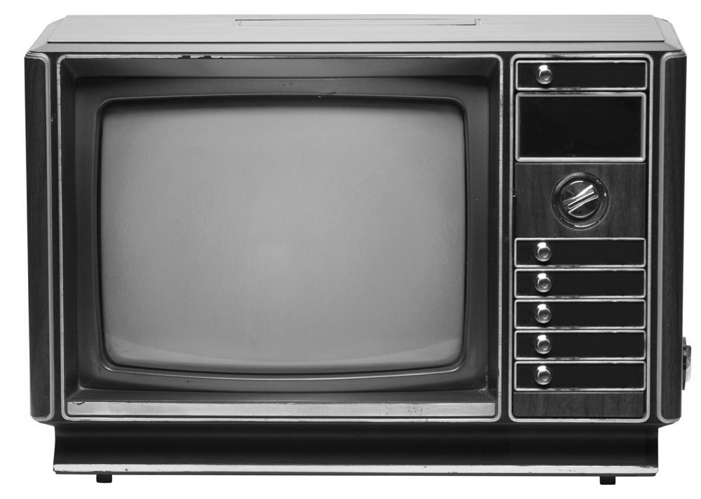 The new endangered species only 70 black and white tvs for Black and white only