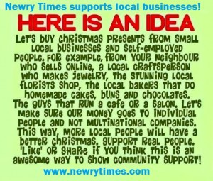 Newry shoppers urged to 'Shop Local this Christmas' | Latest Newry ...
