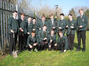 Year 12 pupils from St Joseph's