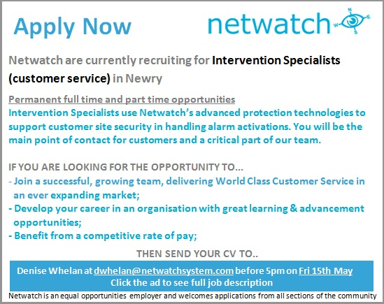 Part Time jobs in Newry from the leading Newry recruitment site for Newry vacancies loadingtag.ga