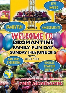 Dromantine Family Fun Day advert