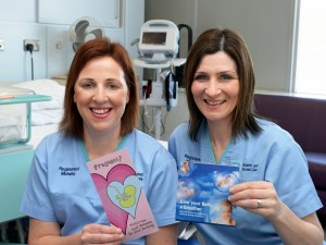 Roisin Donohue and Ursula Gaffney, new Smoking Cessation Midwives for the Southern Health and Social Care Trust.