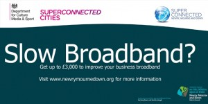 Broadband voucher advert