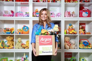 Louise Redknapp launches the fourth annual Argos Toy Exchange