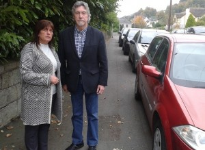 Sinn Féin councillor Valerie Harte and party colleague Mickey Brady MP have welcomed a commitment from Transport NI to extend double yellow lines on the Drumalane Road.