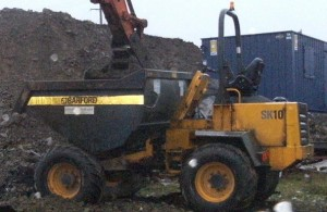 Barford dumper Aughnagurgan Road 153 061115