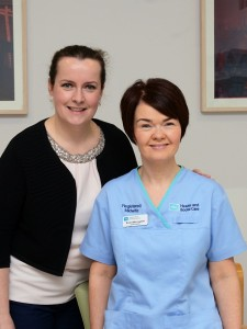 Midwife Donna  Mum Aine