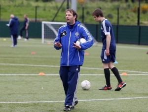 Irish FA Disability Manager Alan Crooks