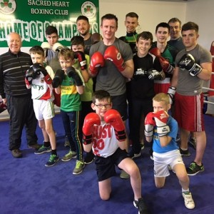 Justin Sacred heart Boxing Club 1