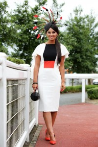 Magners Raises the Fashion Stakes at Down Royal…Dressing to impress has paid off in style for Kirsty Farrell from Newry who won the ultimate accolade of Magners Forbidden Flavours Best Dressed Lady on Magners Derby Day, the biggest and richest flat race of the season in Northern Ireland and a highlight of Down Royal's Festival of Summer Racing.  First past the post in the fashion stakes, Kirsty won a five day, five star break in glorious Las Vegas courtesy of Magners and Down Royal.   Press Eye - Belfast - Northern Ireland - 18th June 2016 - Down Royal Racecourse Magners Ulster Derby - Summer Festival Day 2 (Saturday)
