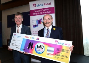shop local Stephen Kenny and Michael Gaynor shop local voucher