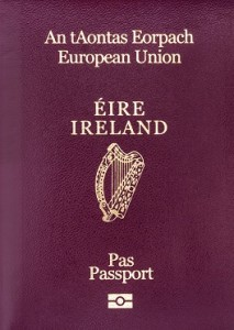 passport irish