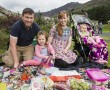 Pictured enjoying last year's event are: Damian and Donna O'Connor and their kids Erin and Anna from Kilkeel
