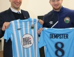 Manager Matthew Tipton (left) and Curtis Dempster (right)