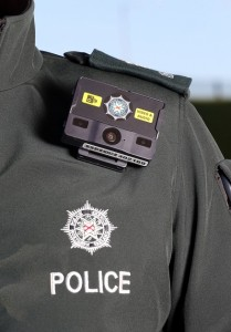 PSNI Body worn video technology image