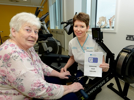 Healthy Legs Lynne Whiteside Clinical Lead PHYSIO and Silvia Aulds BESSBROOK
