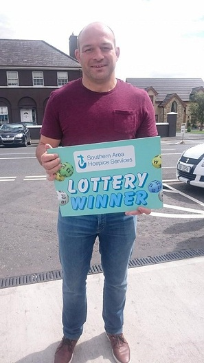 Hospice SAHS Lottery - Rory Best