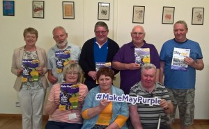 Newry stroke survivors help Make May Purple for Stroke