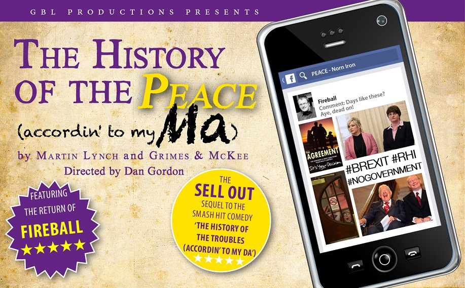 Newry Town Hall welcomes The History of the Peace (accordin