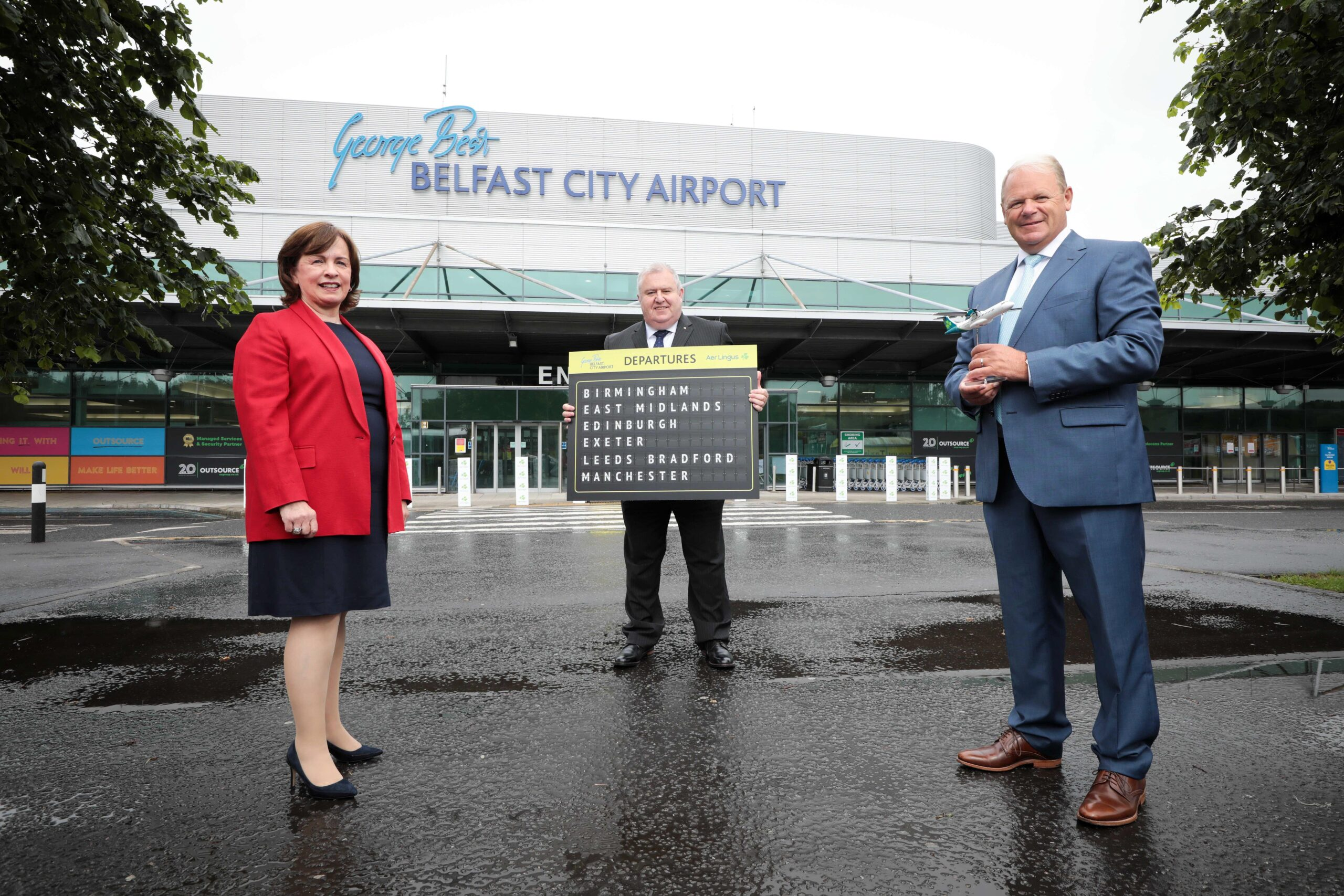 Minister - Belfast City Airport - Newry newspaper