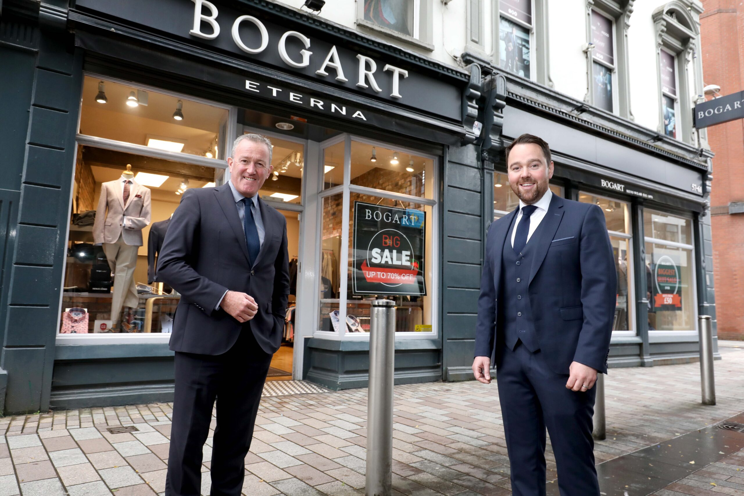 Finance Minister with Gary Keenan, Bogart - Northern Ireland business news
