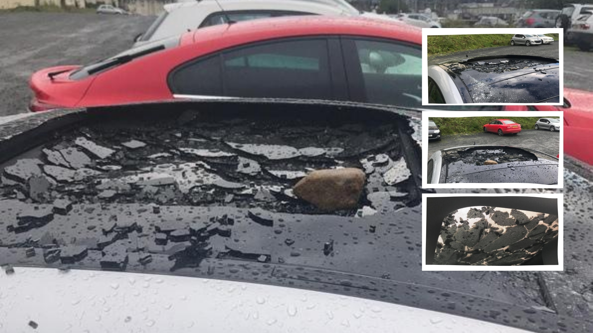 Newry vandals target car in city centre car park - Newry news