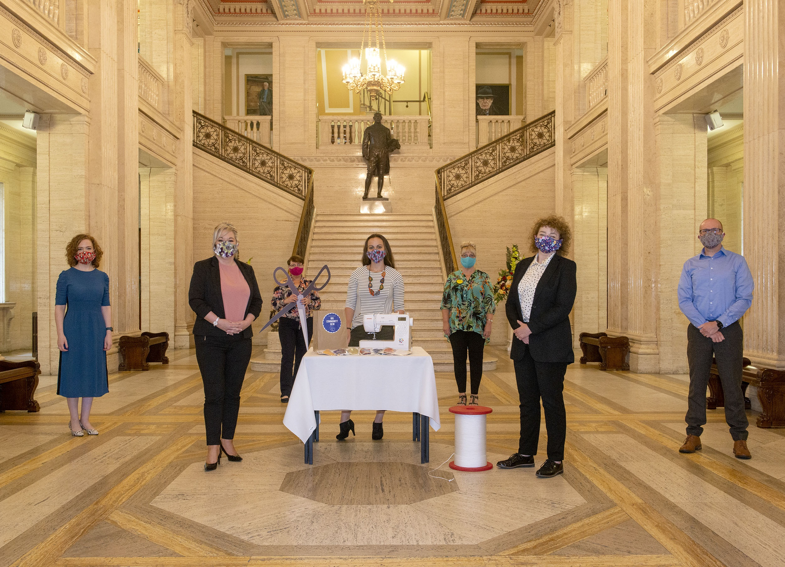 NI Communities Minister Masks, Wear One For Everyone - Newry COVID-19
