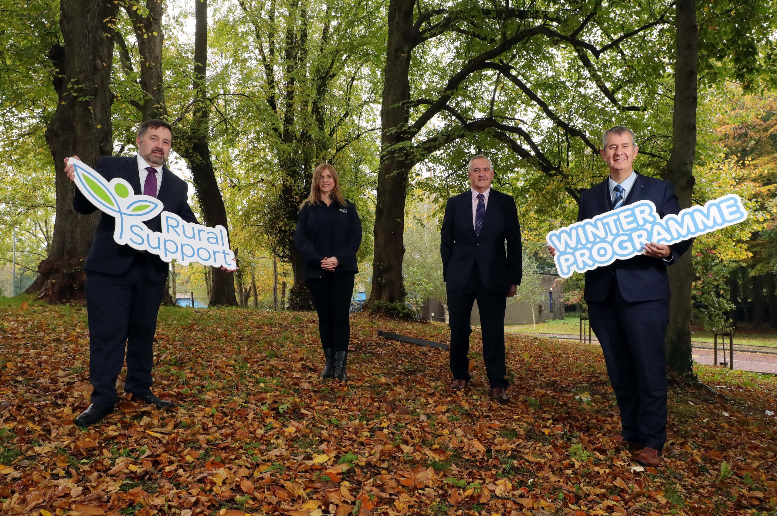Ministers Poots and Swann Launch Rural Support's New Winter Programme - Newry Times newspaper