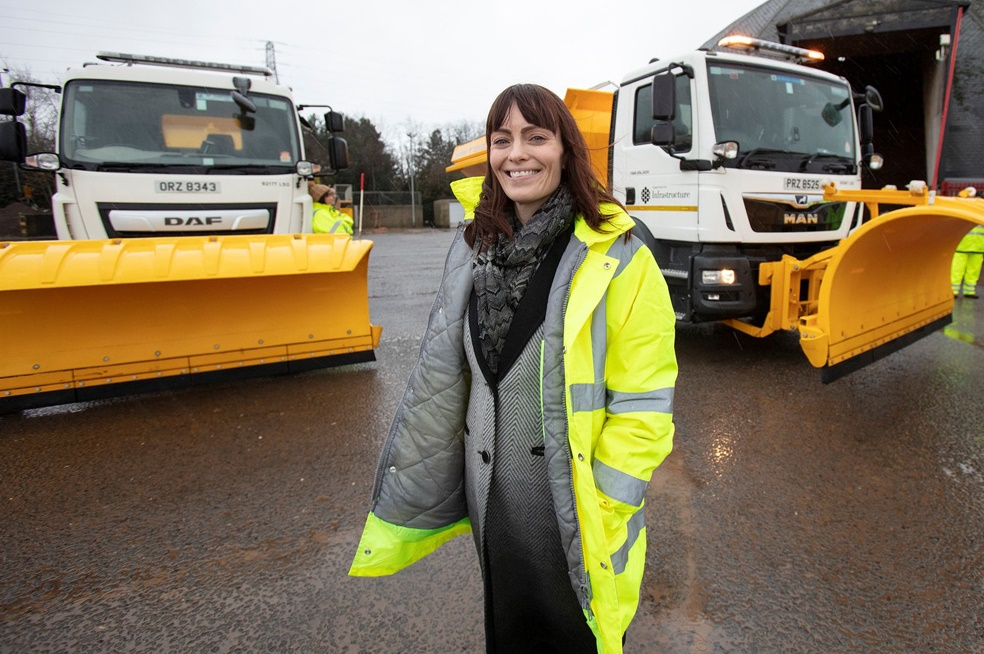 Nicola Mallon - Roads winter readiness plans in place – Newry newspaper