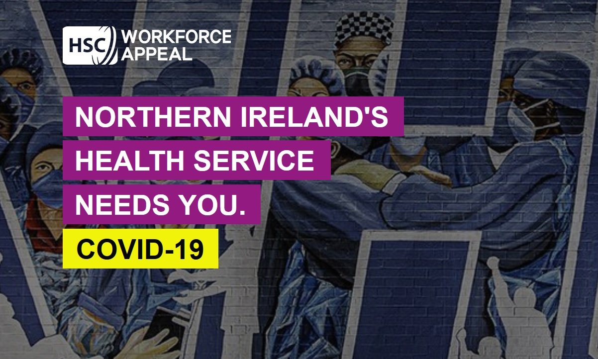 Northern Ireland COVID-19 Coronavirus Workforce Appeal - Newry news