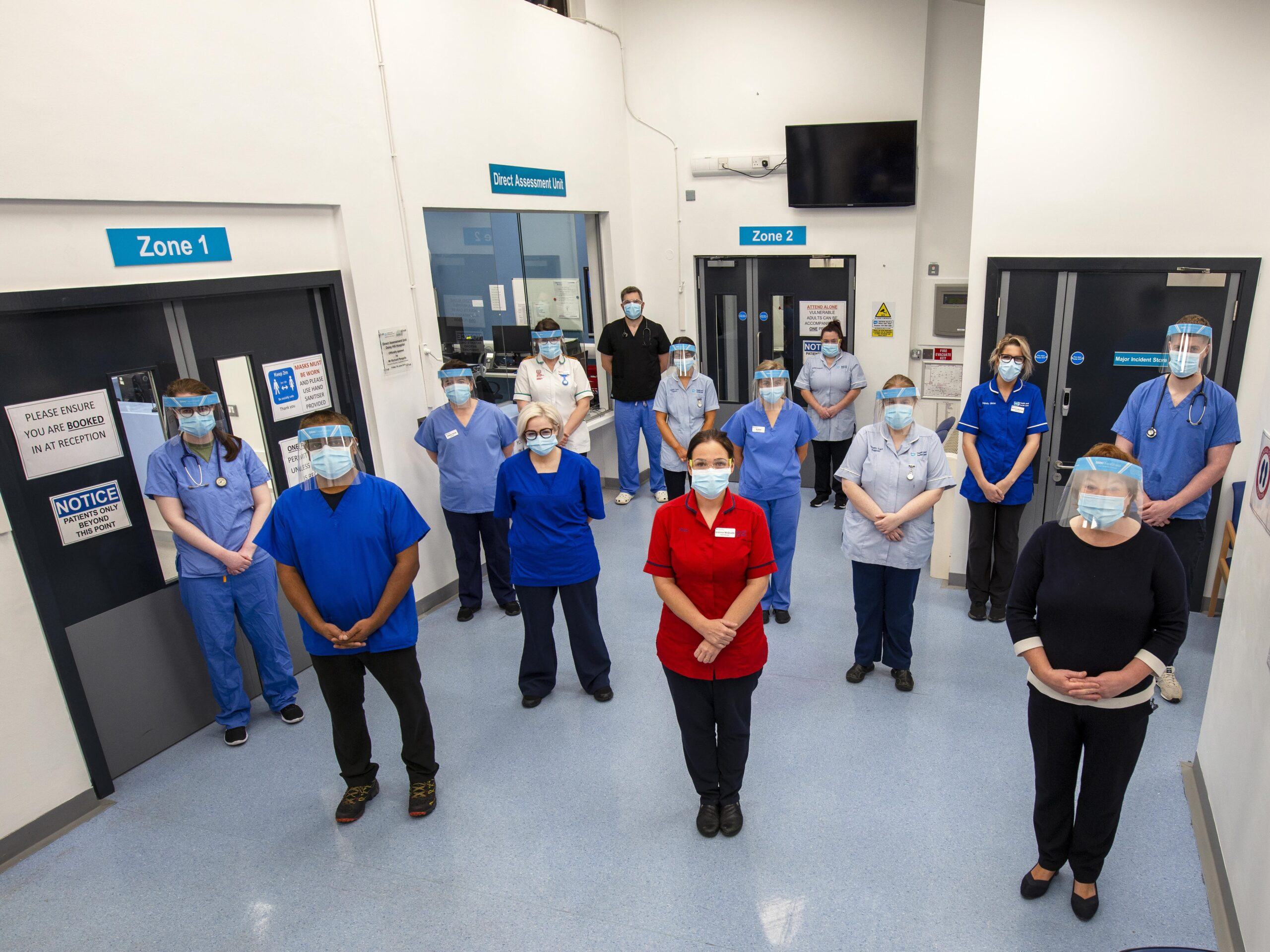 Tribute to staff as Daisy Hill Emergency Department Reopens - Daisy Hill Hospital Opening Hours and Visiting Hours - Newry online