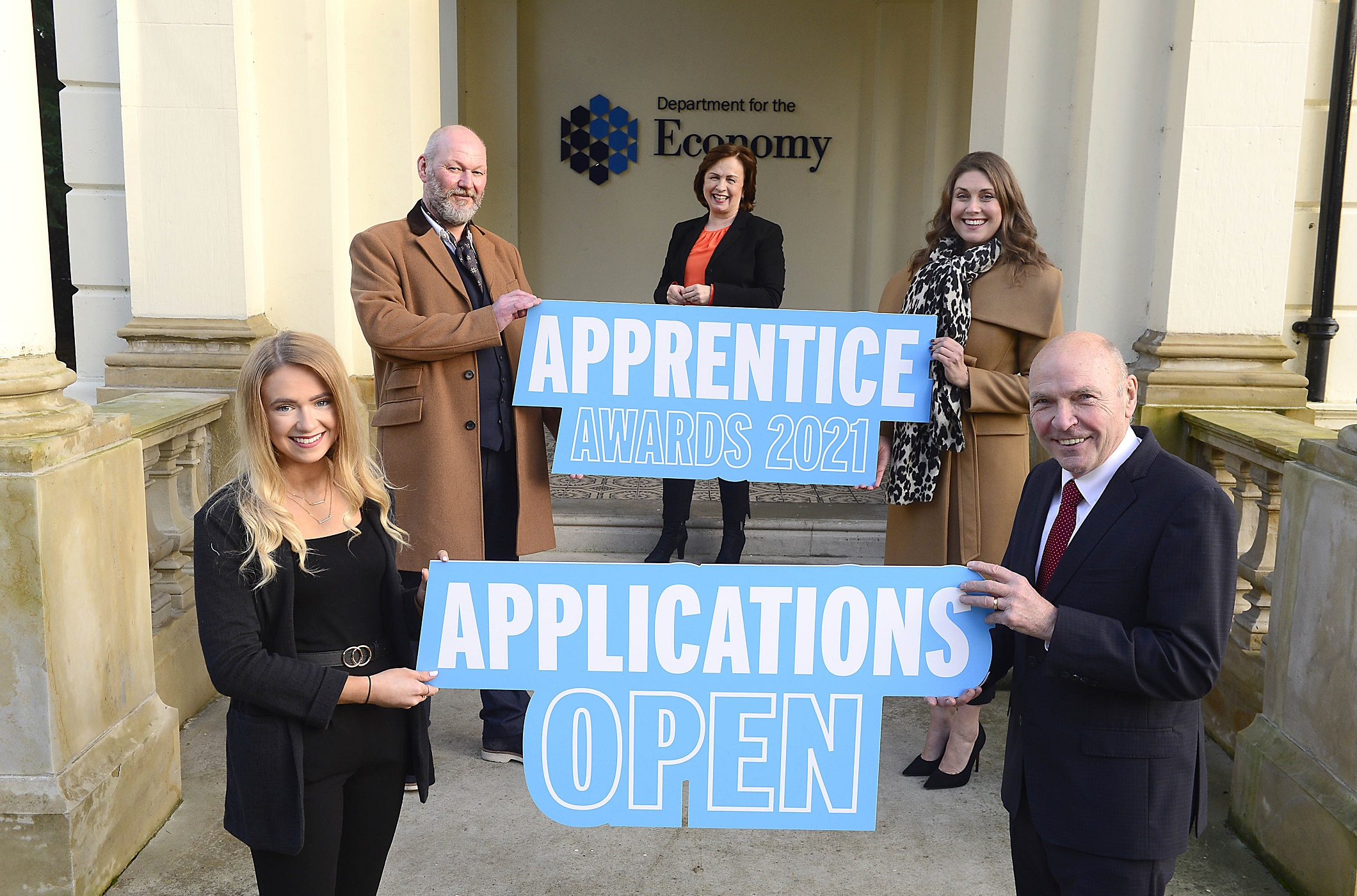 Launch of NI 2021 Apprenticeship Awards pic - Dodds launches NI Apprenticeship Awards 2021 - Newry apprentice