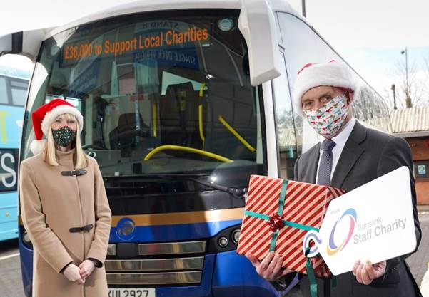 Translink Staff Charity Fund gives £36,000 to Local Charities - Newry News Headlines