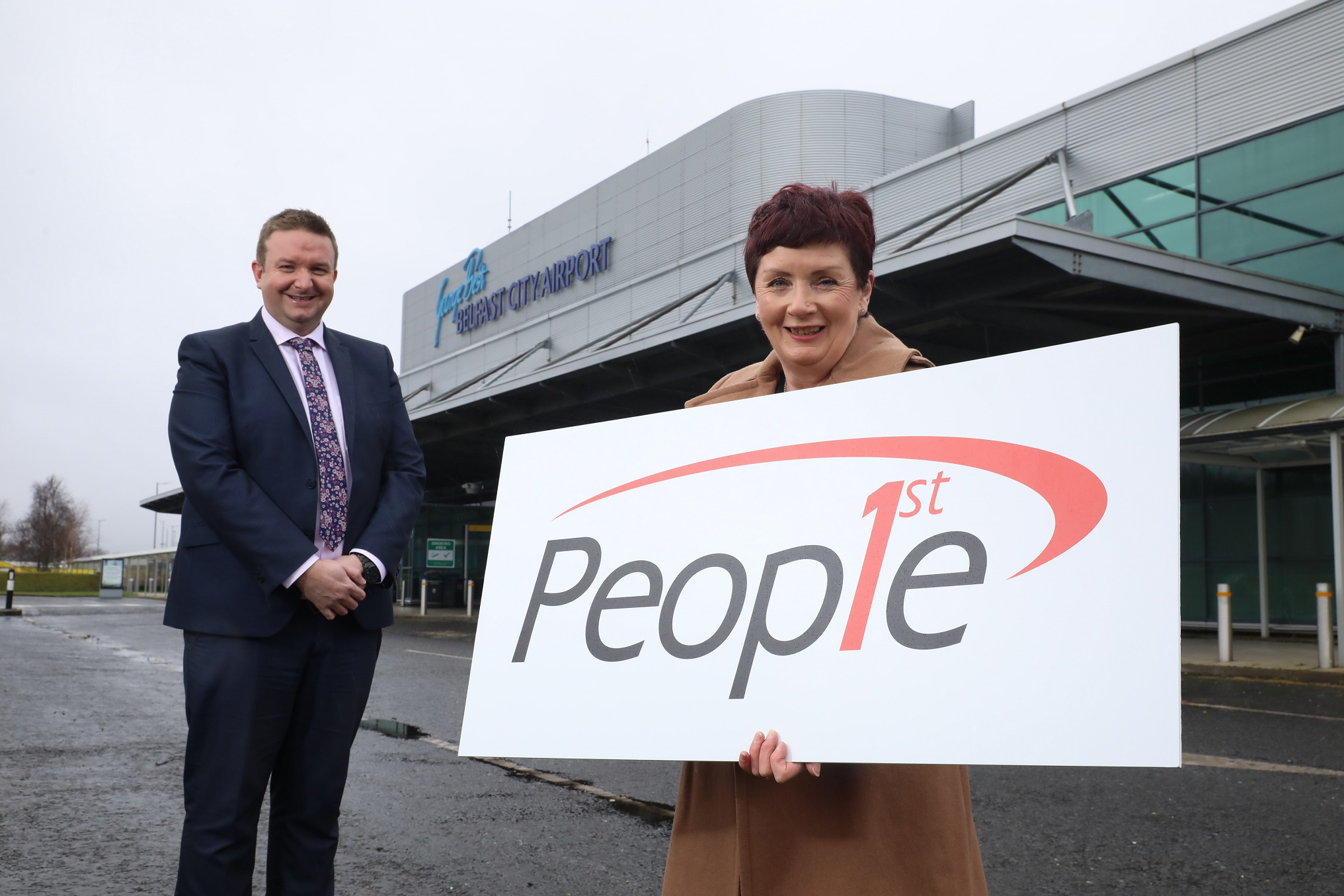 Belfast City Airport and People 1st Partner for New Firefighter Apprenticeship Role