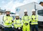 NIE Networks open applications for award-winning apprenticeship programme - L-R Ryan Morgan Molly Guy Neil Freeburn Jack Hoy - Newry jobs and careers