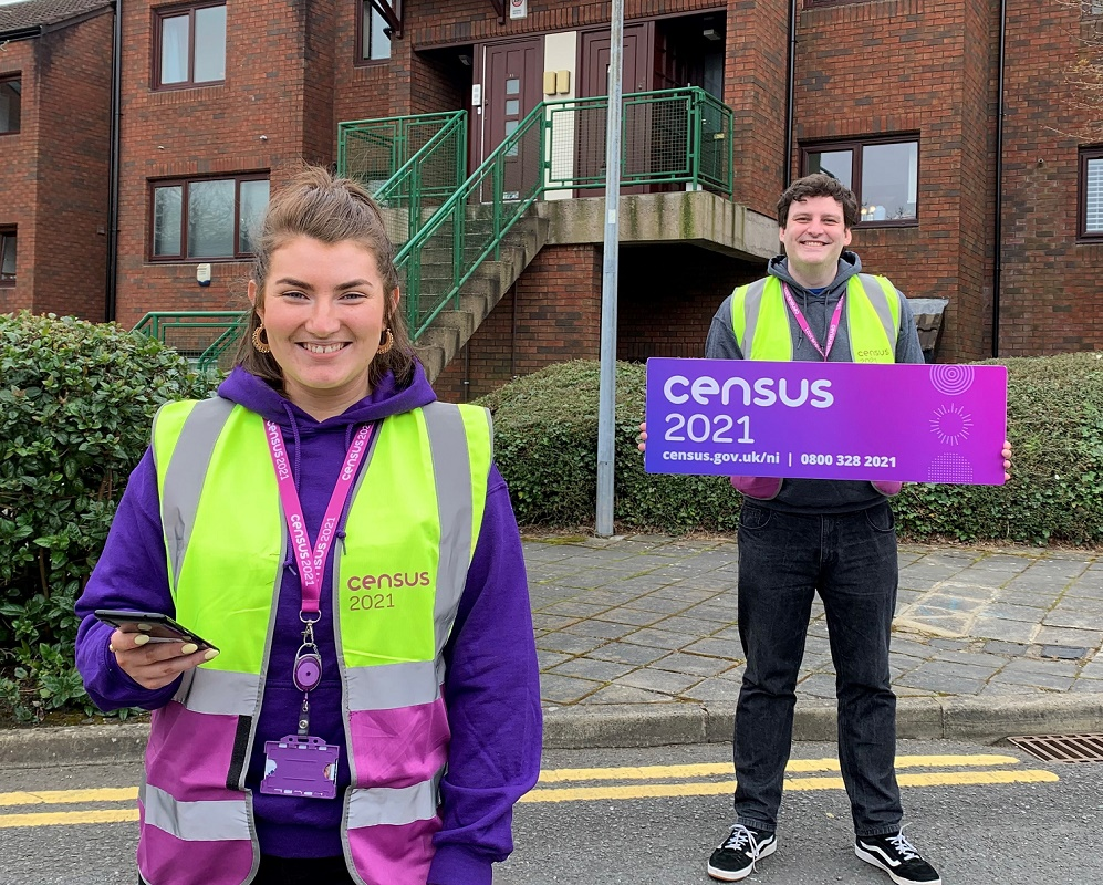90% of households complete 2021 Census - NISRA census field staff will be in your area encouraging everyone to complete the census - Newry news