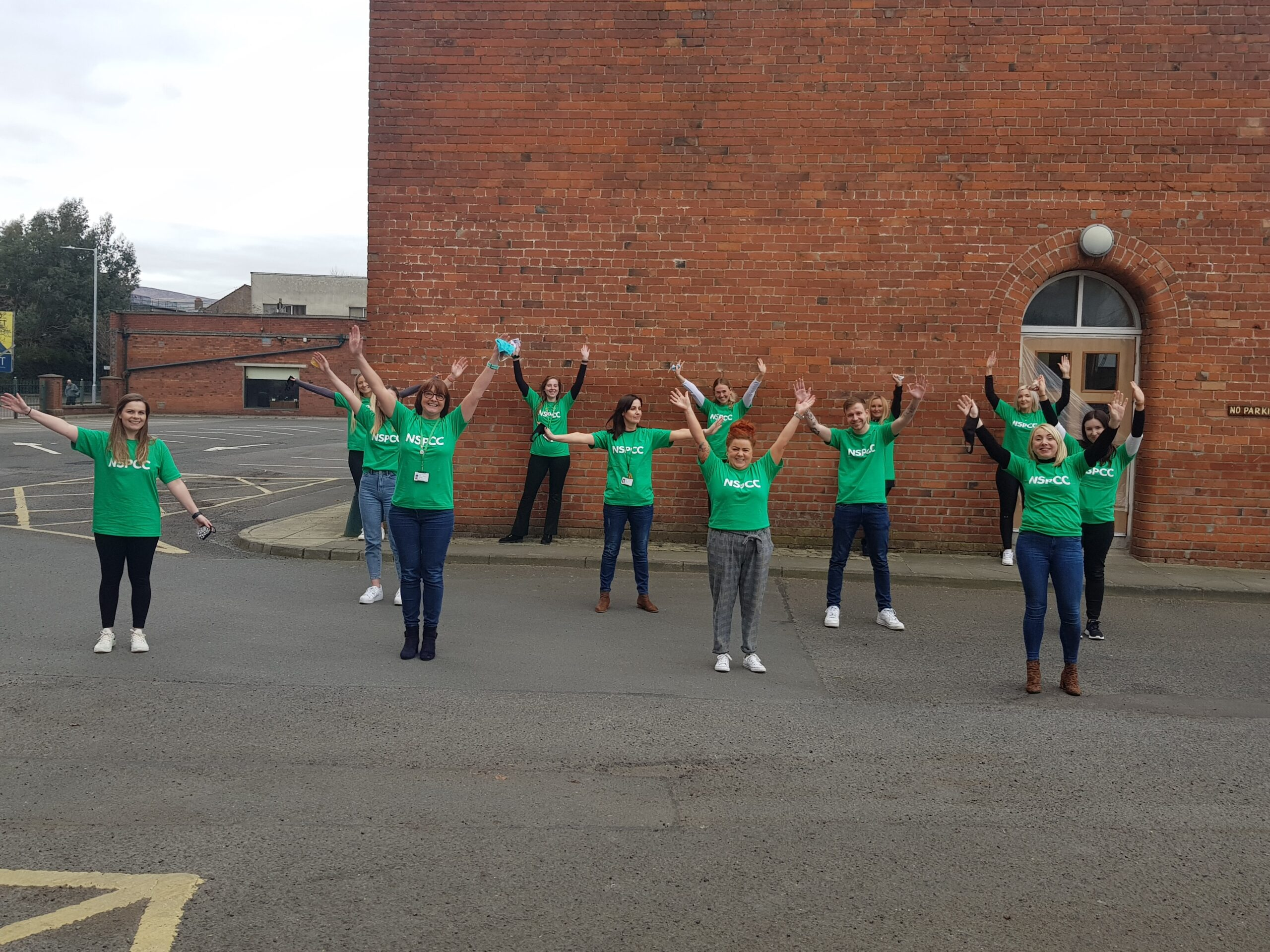 NSPCC NI Helpline team members taking part - NSPCC Helpline staff take part in 5km a day fundraising challenge | Newry Times news
