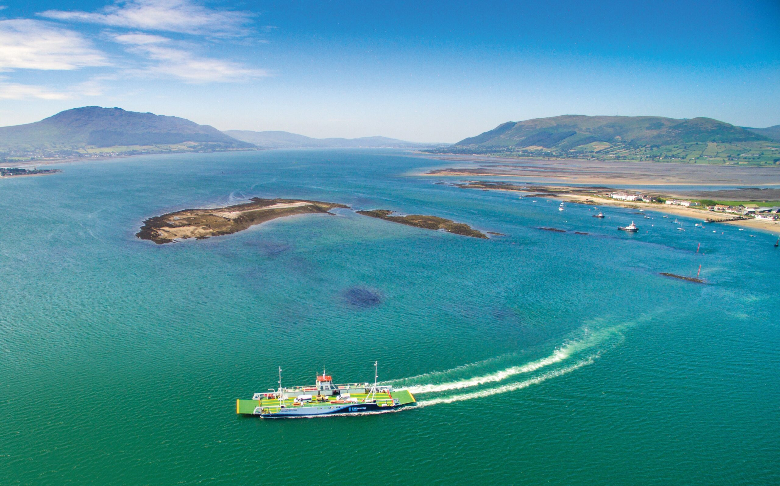 Cross-border car ferry service across Carlingford Lock to reopen  - Newry Times - newry news online