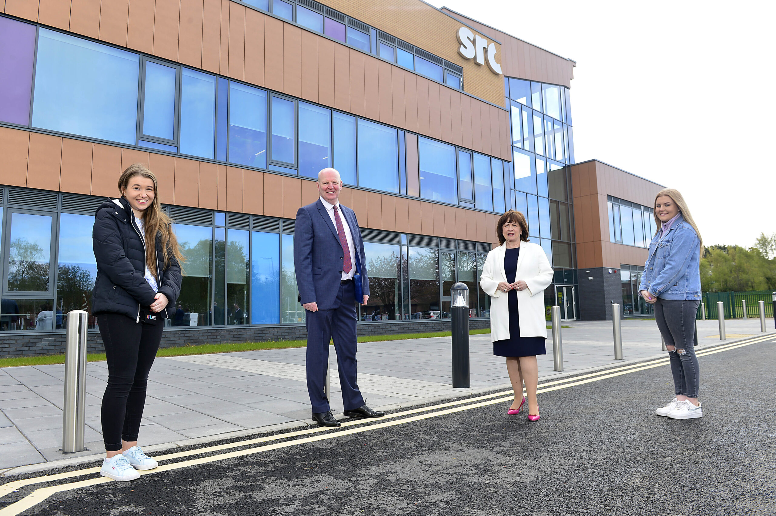 SRC Banbridge - New £15m Banbridge campus for Southern Regional College officially opened - Newry Times - newry ireland news