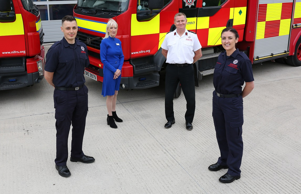 38 New Full-Time Firefighters Graduate - Newry Times - newry news co down