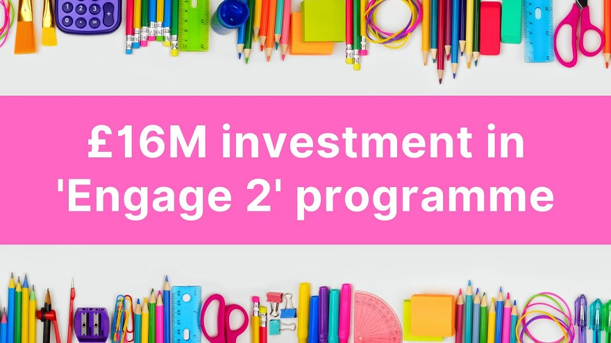Further £16 million announced for 'Engage 2' programme - Newry Times - newry news today