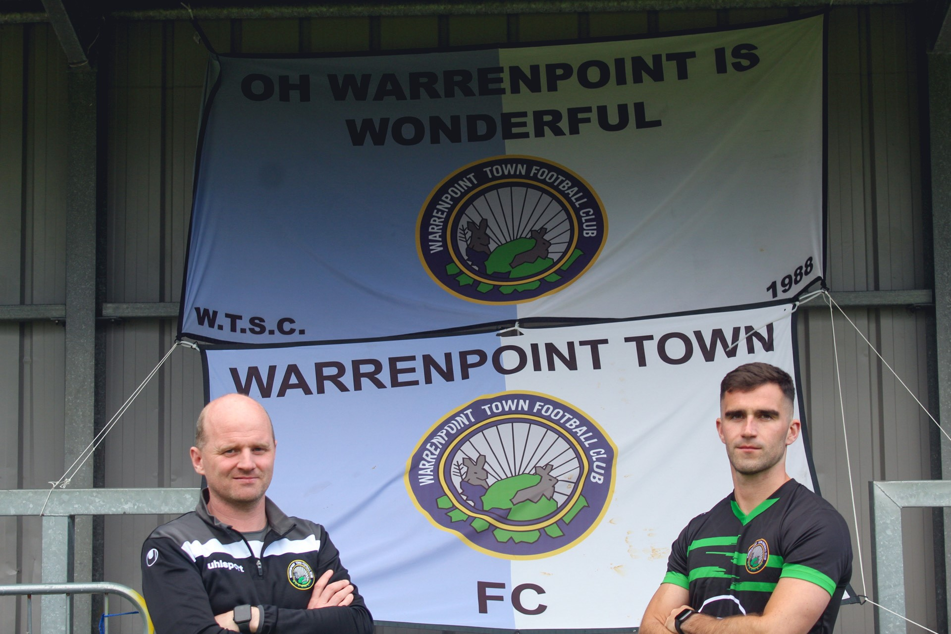 Leddy Signs For Warrenpoint Town Football Club - Newry Times - newry newspapers