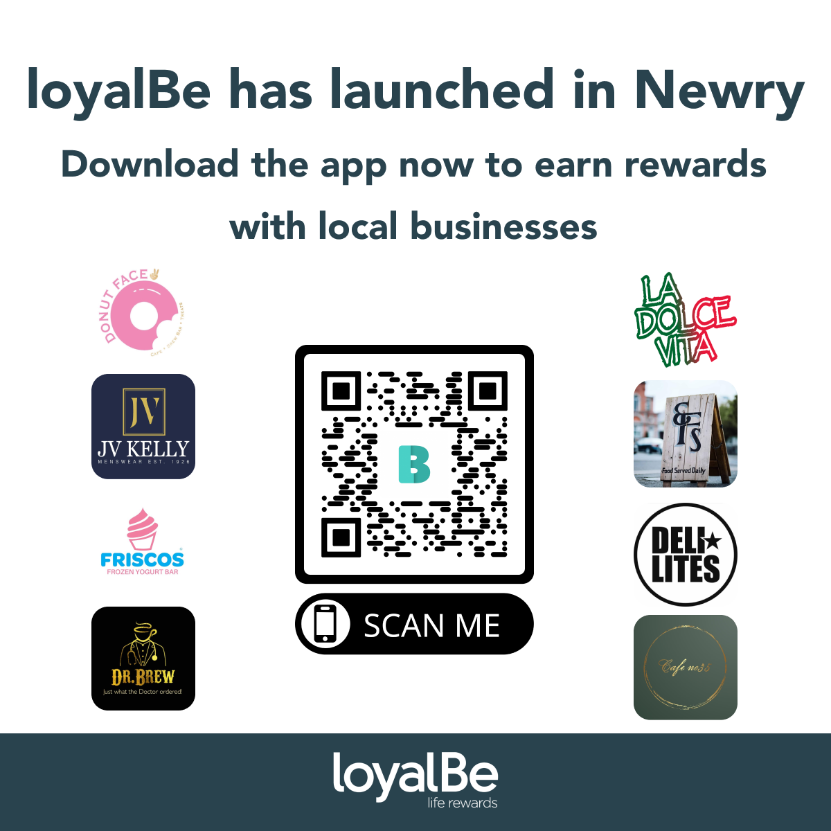 Local Loyalty App, loyalBe, Officially Launches in Newry this Week Newry Times - newry new - Newry Times Ad