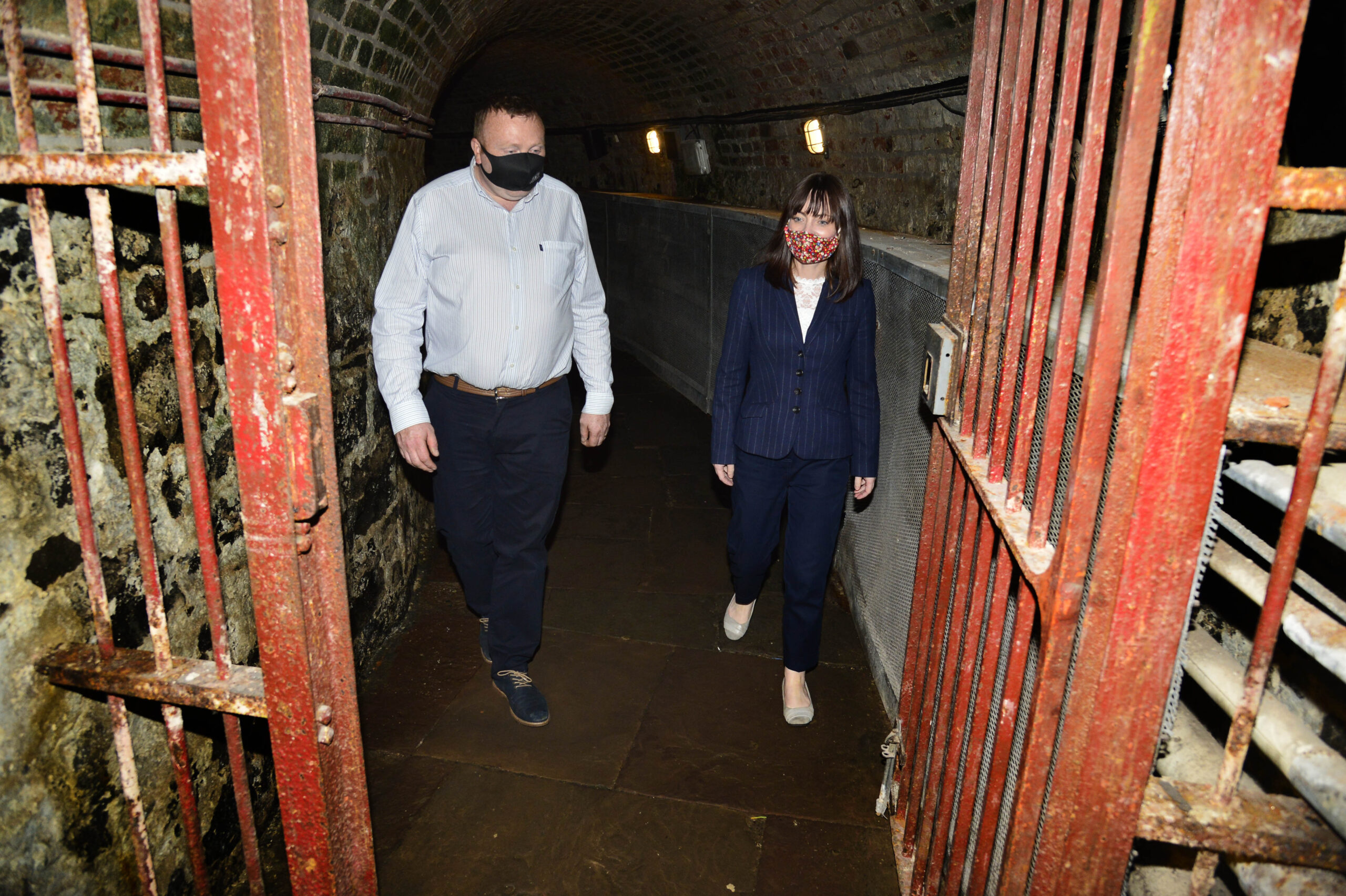 Minister Mallon takes a step back in time at Crumlin Road Gaol | Newry Times - newry newspaper