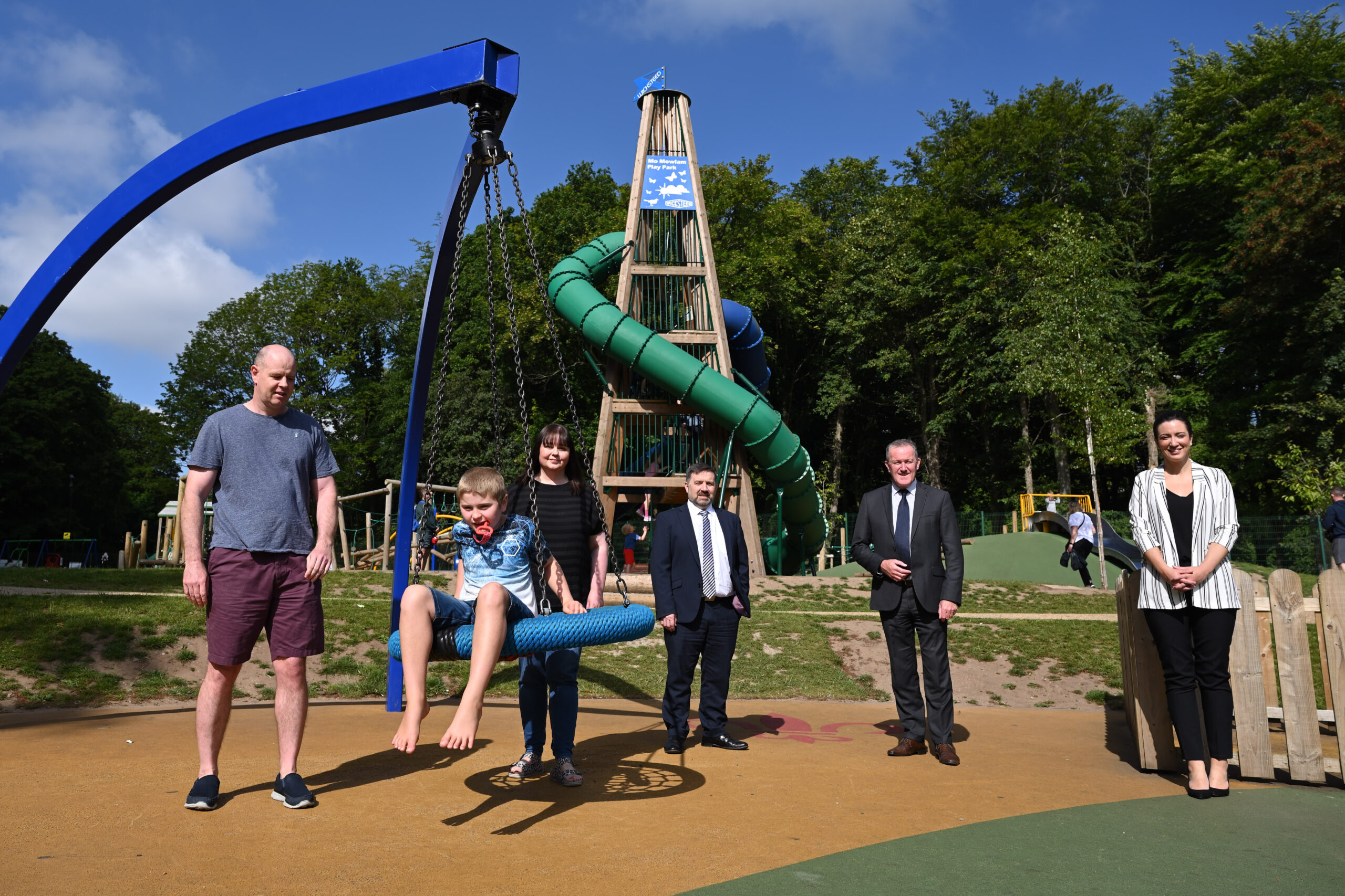 Murphy launches Stormont play park 'Quiet Hour' - Newry Times - newry news facebook
