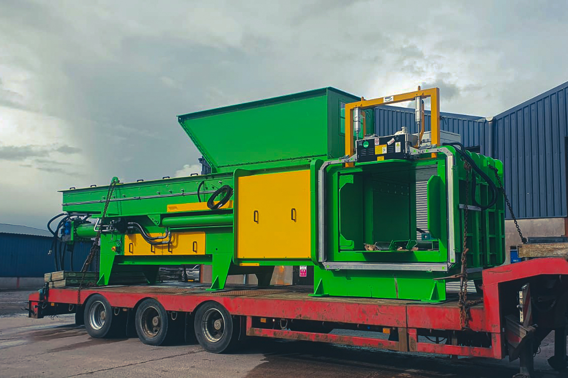 Re-Gen Waste baler - Major recycling investment for Newry firm - Newry Times - newry news online