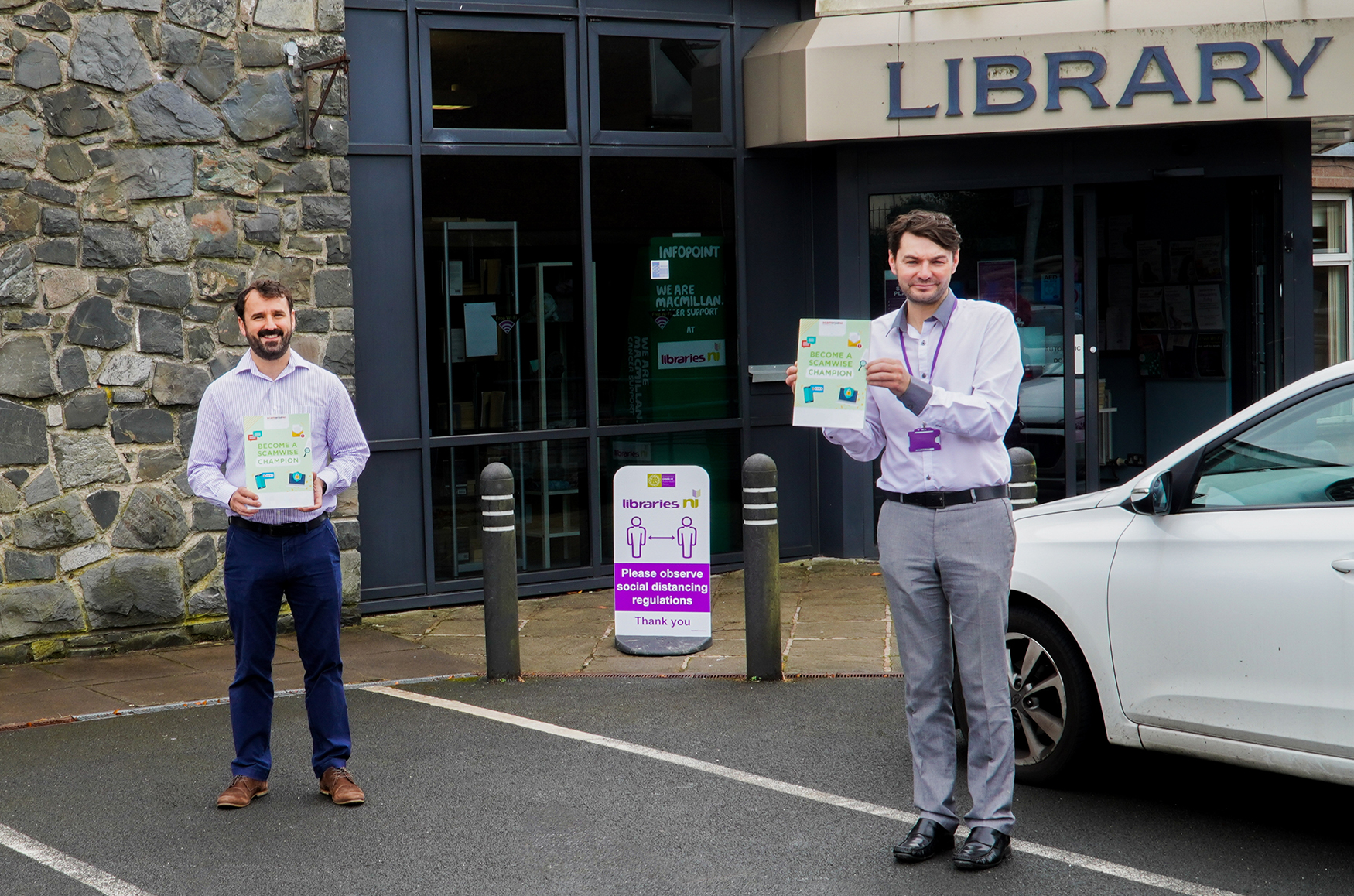 ScamwiseNI and Libraries NI help first-time internet users to avoid scams - Newry Times - newry news