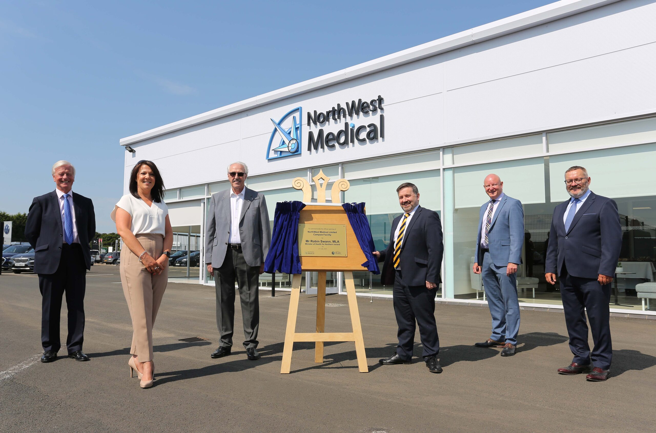 Swann opens PPE manufacturing facility - Newry Times - down newspaper